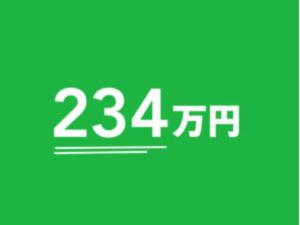 総額1,000万円超えの作成者数